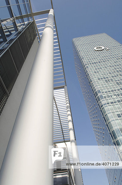 Uptown  Hochhausbürogebäude  Firmenzentrale 02  München  Oberbayern  Bayern  Deutschland  Europa