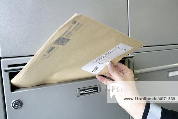 Mit postboten flirten