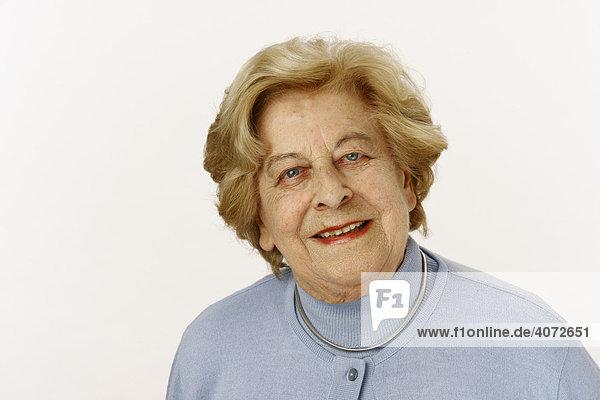 Alte Dame  80-jährige