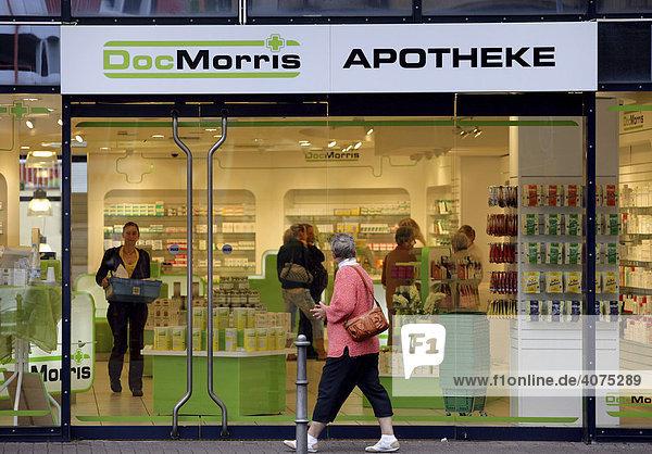 Filiale des niederländischen Versandapothekenkonzerns Doc Morris in Koblenz  Rheinland-Pfalz  Deutschland  Europa