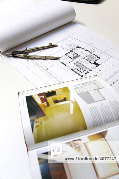 Architektur  Bauplan  Entwurf