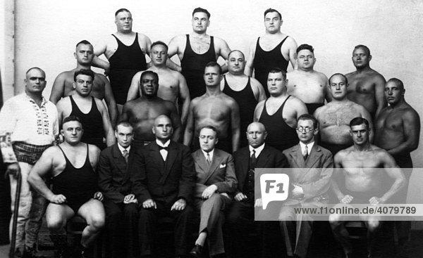 Historische Aufnahme  Ringerverein  ca. 1915