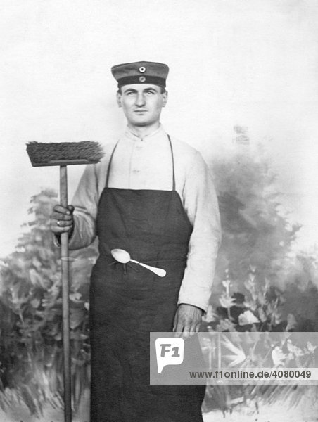 Historische Aufnahme  Soldat  ca 1915