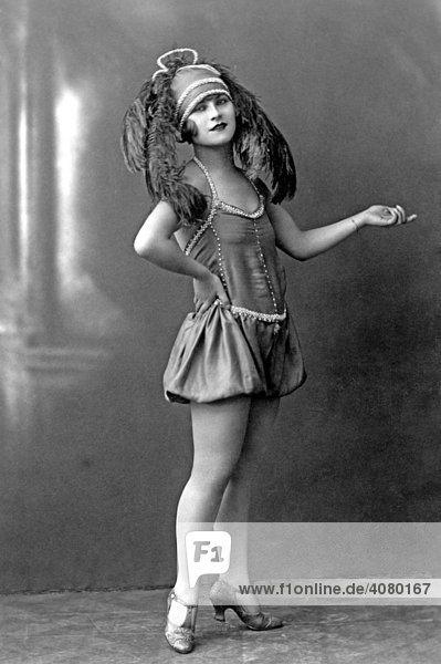 Historische Aufnahme  Mode  ca. 1920