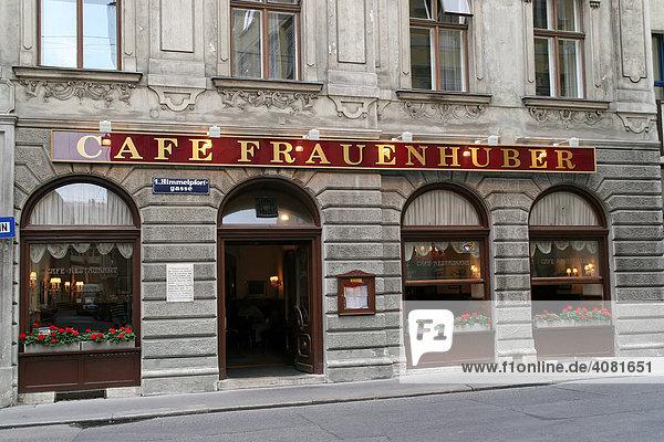 Cafe Frauenhuber  Himmelpfortgasse (Österreich  Wien)