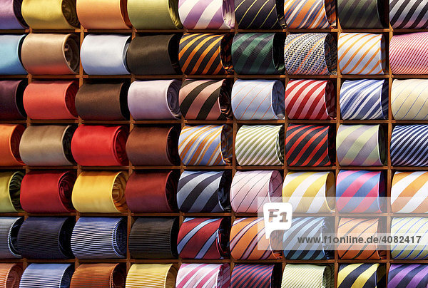 Colourful ties
