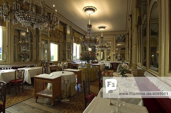 Turin Piemont Piemonte Italien das historische Restaurant del Cambio