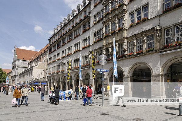 München Oberbayern Deutschland Kaufingerstrasse
