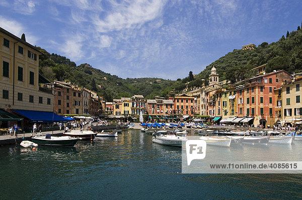 Portofino Riviera di Levante Ligurien Italien