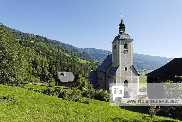 Frauenburg im Murtal Bezirk Judenburg Steiermark Österreich Pfarrkirche St. Jakob