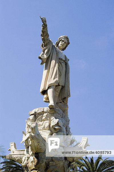 S. Margeritha Ligure Ligurien Italien Denkmal für Christopher Kolumbus