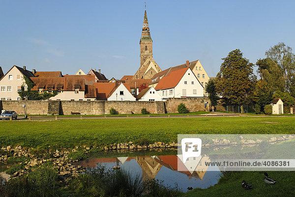 Wolframs-Eschenbach Mittelfranken Bayern Deutschland