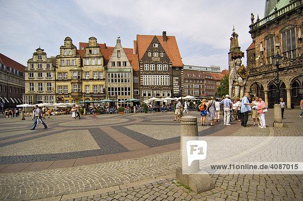 Rathausplatz  Bremen  Deutschland