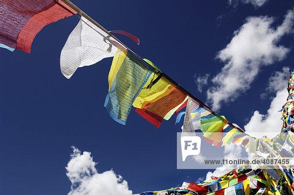 Prayer flags  Yumbulagang fortress  Tibet