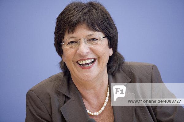 Ulla SCHMIDT  SPD  Bundesministerin für Gesundheit  DEUTSCHLAND  BERLIN.