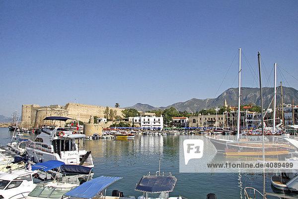 Kyrenia,  Zentrum,  Hafen,  Nordzypern,  Zypern,  Europa