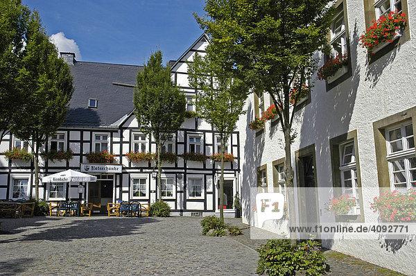 Altstadt  Brilon  NRW  Nordrhein Westfalen  Deutschland