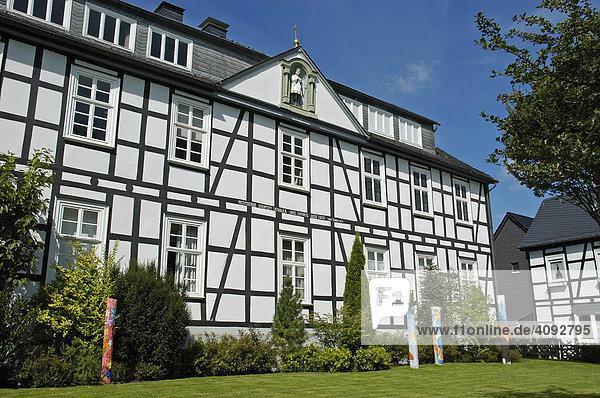 Marienschule  Realschule  Brilon  NRW  Nordrhein Westfalen  Deutschland