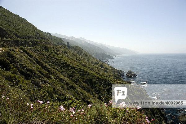 California State Route 1  Big Sur  Kalifornien  USA