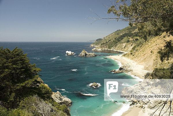 Big Sur  Route No. 1  Kalifornien  USA