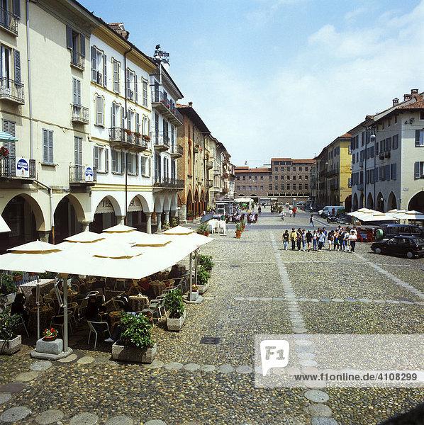 Piazza della Vittoria  Pavia  Lombardei  Italien