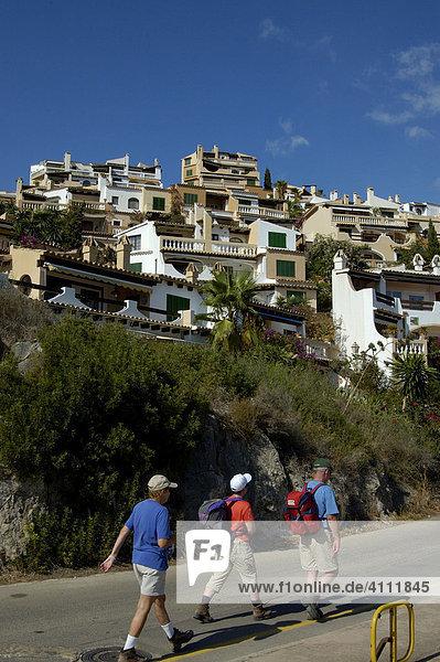 Cala Fornells Ferienhaussiedlung  bei Port d'Andratx  Mallorca  Spanien