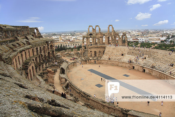 Amphitheater of El Djem  Tunisia