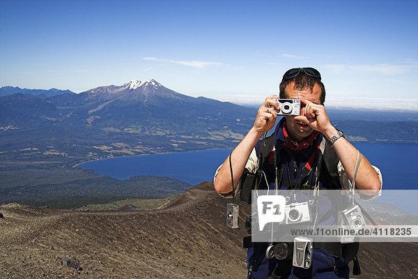 Climbing Osorno volcano  Chile