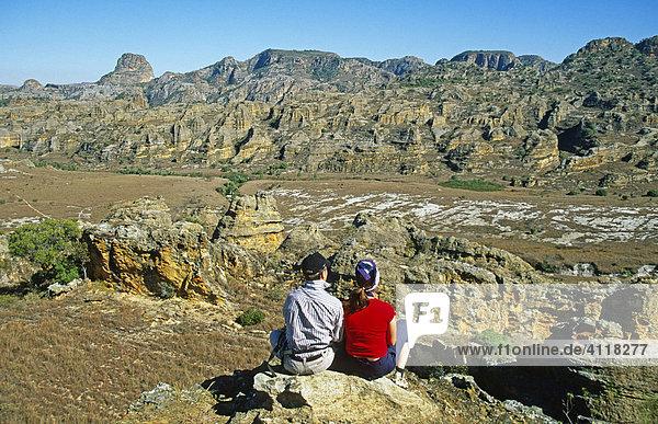 Landschaft im Isalo Nationalpark  Madagaskar
