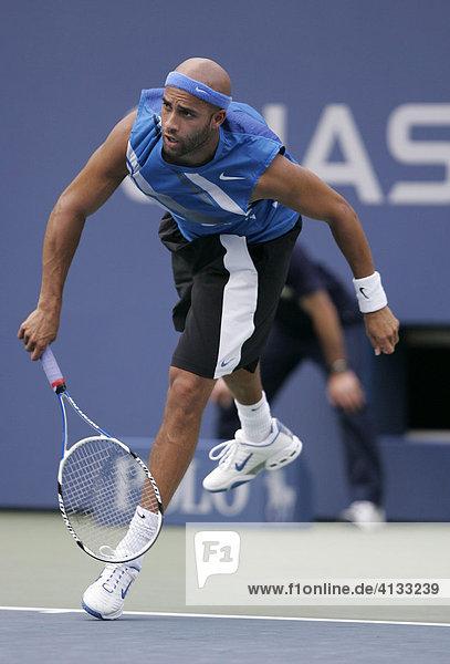 James Blake (USA) US Open 2007 USTA Billie Jean King National Tennis Center New York  USA