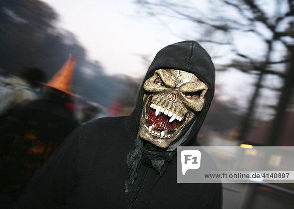 Halloween Party in der ZOOM Erlebniswelt  Gelsenkirchen  Nordrhein-Westfalen  Deutschland