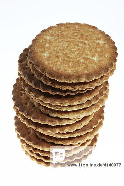 Kekse mit Schokolade gefüllt  Prinzenrolle