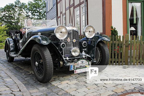 Oldtimer Lagonda M 45 T7 Open Tourer Baujahr 1934  Oldtimer-Rallye Wiesbaden 2007  Hessenpark  Neu-Anspach  Taunus  Hessen  Deutschland
