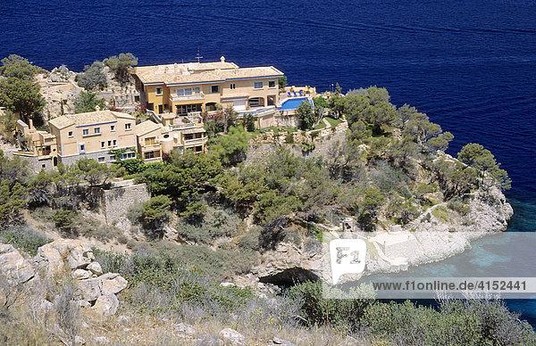 Villa an der Küste bei Port Andratx auf Mallorca  Spanien