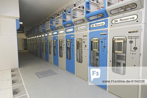 Umspannstation  Hückeswagen  Nordrhein-Westfalen  Deutschland