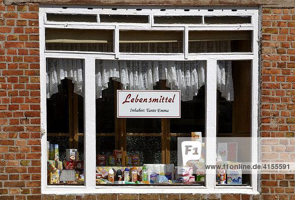 Kleines Einzelhandelsgeschäft (Tante-Emma Laden)