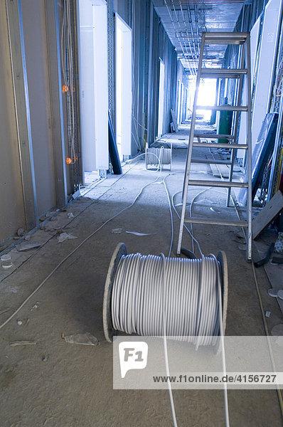 Kabel in Neubau