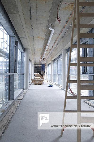 Bau eines Krankenhauses Gelsenkirchen Nordrhein-Westfalen Deutschland