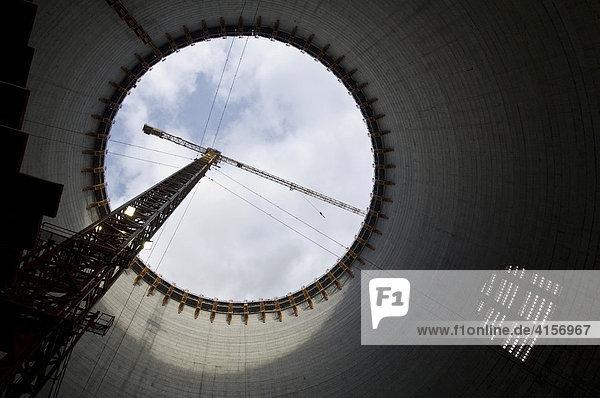 Europas grösste Baustelle  Braunkohlekraftwerk  Neurath  Nordrhein-Westfalen  Deutschland