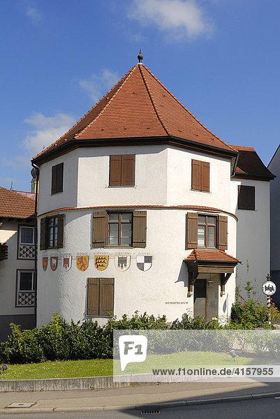 Sigmaringen - Heimatmuseum Runder Turm - Baden-Württemberg  Deutschland  Europa.