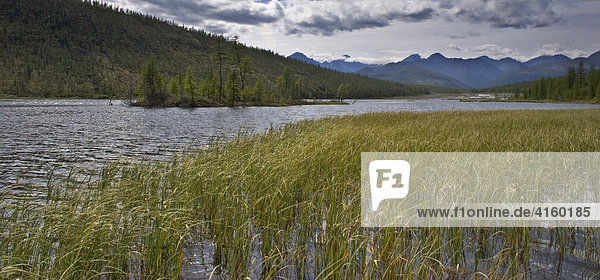 National park Jack London's lake  Magadan area  Eastern Siberia  Russia