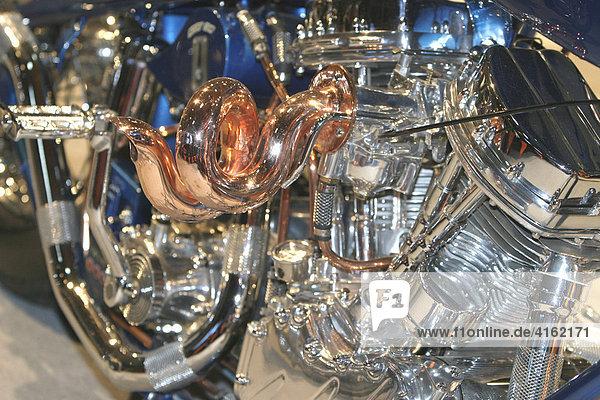 Harley Davidson  Detail  Vergaser.