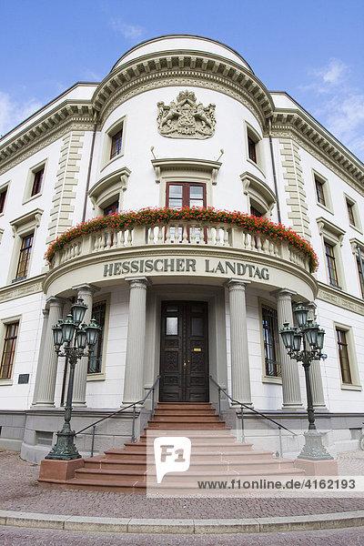 Hessischer Landtag  Wiesbaden  Hessen  Deutschland.