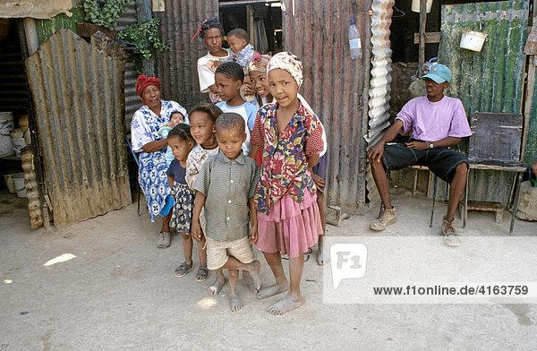 Namafamilie in Namibia
