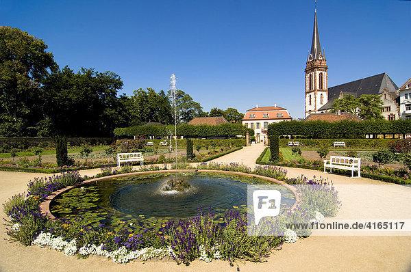 Prinz Georg Garten  Darmstadt  Hessen  Deutschland