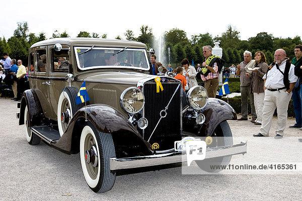Volvo PV 654  S 1933 - 1935  Oldtimer-Gala Schwetzingen  Baden Württemberg Deutschland