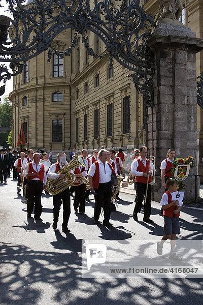 Kiliani Festzug Würzburg Unterfranken