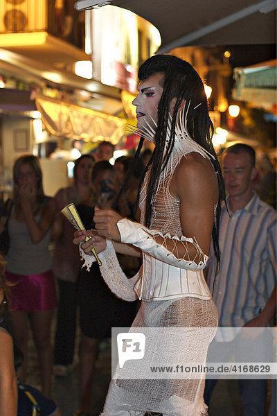 Nachtleben in Eivissa - Hauptstadt von Ibiza