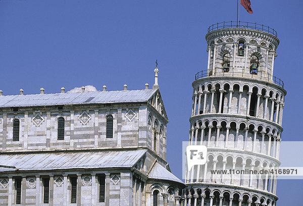 Italien Toskana Pisa Dom und Schiefer Turm
