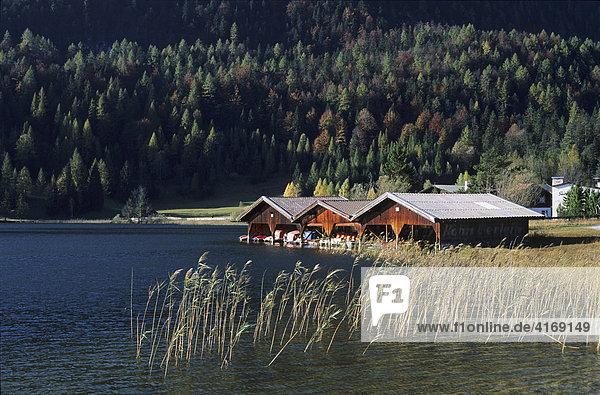 Oberbayern Werdenfelser Land - Lautersee bei Mittenwald